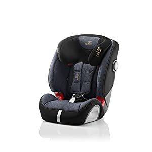 Britax Römer EVOLVA 1-2-3 SL SICT Group 1-2-3 (9-36kg) Car Seat - Blue Marble   11