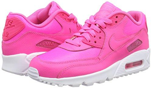 Nike NIKE AIR MAX 90 LTR (GS), Damen Sneakers, Pink (600 PINK POW/PINK POW-WHITE), 37.5 EU -