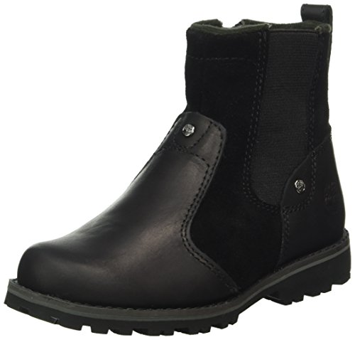 Timberland Unisex-Kinder Asphalt Trail Chelsea Boots Schwarz (Black Connection) 35.5 EU -