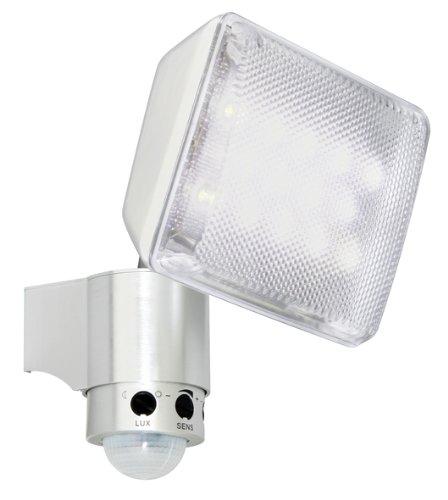 XQ-lit XQ1158 - Lampada LED da esterni con sensore di movimento, 8 m x 130°