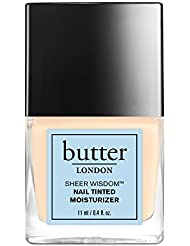 butter LONDON Sheer Wisdom Nail Tinted Moisturiser Fair