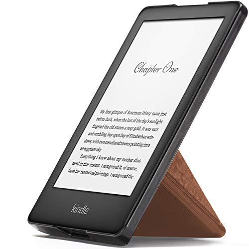 Forefront Cases Smart Hülle für Kindle 2019 | Magnetische Schutzülle Cover Ständer für Amazon Kindle (10. Generation - 2019 Modell) | Origami Design & Auto Schlaf Wach | Elegant Dünn Leicht | Braun -