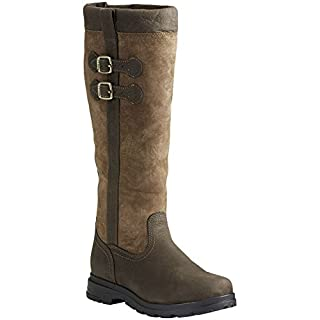 Ariat Eskdale Womens Leather H20 Boot - Java Brown : Adults 6.5