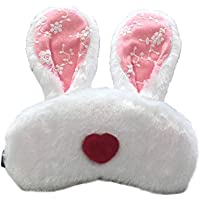 Spaufu Cute Furry Sleep Mask with Cartoon Rabbit Heart Pattern Eye Mask for Sleeping Adults Kids Relieve Fatigue... preisvergleich bei billige-tabletten.eu