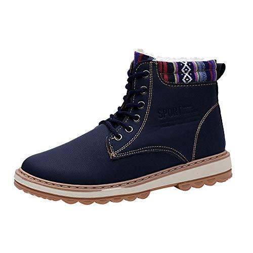S&H-NEEDRA Chaussures Hommes, Chaussures De Travail pour Hommes Bottines Décontractées Bottes Hautes De Martin Baskets Chaussures De Sport