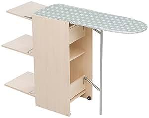 foppapedretti 9900303303 myhome stir8 tisch mit regal und b gelbrett zum einklappen. Black Bedroom Furniture Sets. Home Design Ideas