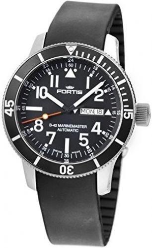 Fortis B42 Marinemaster Day Date 647.29.41 Reloj Automático para hombres Carcasa Maciza