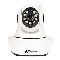 KNEWMART Ip Kamera WLAN WiFi Sicherheitskamera für Außen HD Überwachungskamera HD IP cam mit LAN & WLAN