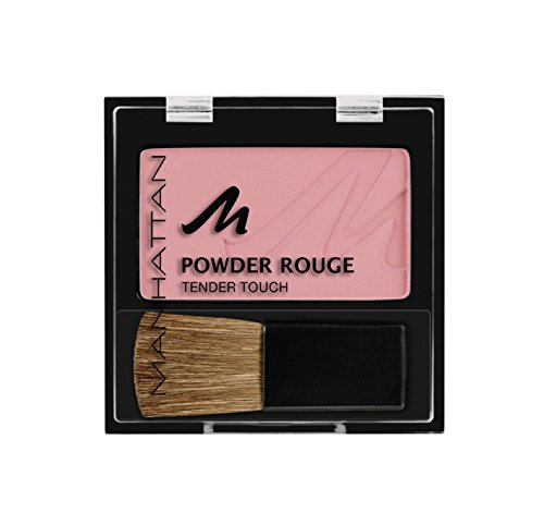 Manhattan Powder Rouge 35W lovely rose, 1er Pack (1 x 5 g)