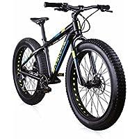 Bike Rider MBM BLACK MAMBA aluminium noir mat