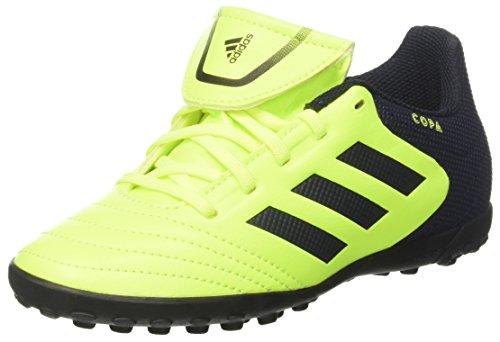 adidas Unisex-Kinder Copa 17.4 TF Fußballschuhe, Gelb (Solar Yellow/Legend Ink/Legend Ink), 38 2/3 EU (Tf Fußball-schuh)