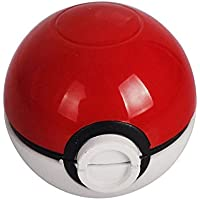 Grinder Pokemon Picador Pokeball Spice Mill 3 Piezas 2 pulgadas trituradora-HIBRON
