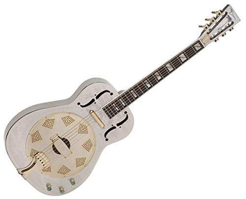 Resonator Thin Body Electric Chrome/Gold