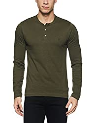 French Connection Mens Slim Fit T-Shirt (56IJR_Forest Night_M)