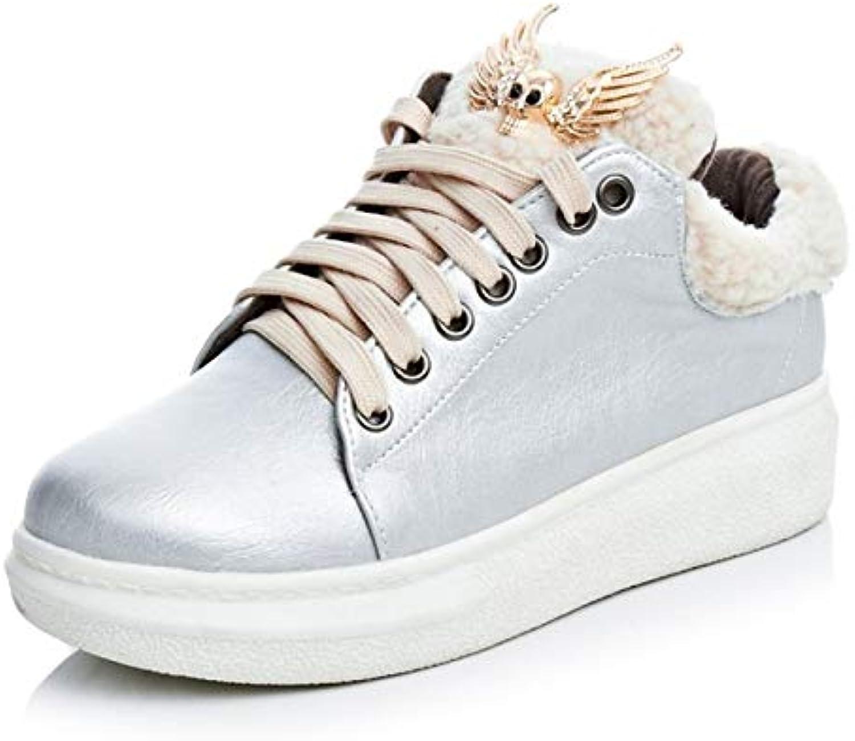 ZHZNVX Scarpe da Donna Similpelle Autunno & Inverno Comfort scarpe da ginnastica Scarpe da Camminata Tacco Piatto Stivaletti... | Meraviglioso  | Sig/Sig Ra Scarpa