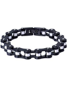 LDUDU® Herren Fahrradkette Motorradkette Armband Edelstahl Geschenk für Valentinstag Geburtstag Weihnachten(nicht...