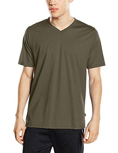Trigema Herren 637203 T-Shirt, Grün (Khaki 155), XX-Large -
