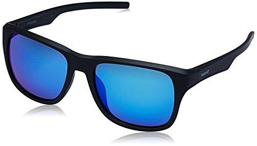 Polaroid Herren Sonnenbrille » PLD 3019/S«, schwarz, DL5/Y2 - schwarz/grau