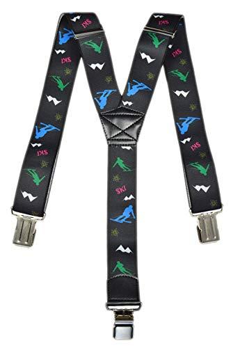 Olata Bretelles Ski pour Salopettes avec Ski Motif. Adulte, Y Modèle