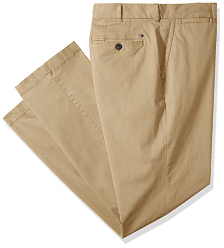 Preisvergleich Produktbild Tommy Hilfiger Men's Big and Tall Classic Fit Stretch Chino Pants,  Mallet,  48X34