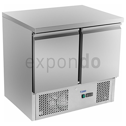 Royal Catering - RCKT-90/70-O - Pizza-Kühltisch - 90 x 70 cm