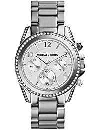 Michael Kors MK5165 Women's Stainless Steel Silver Dial Blair Quartz Chronograph Watch