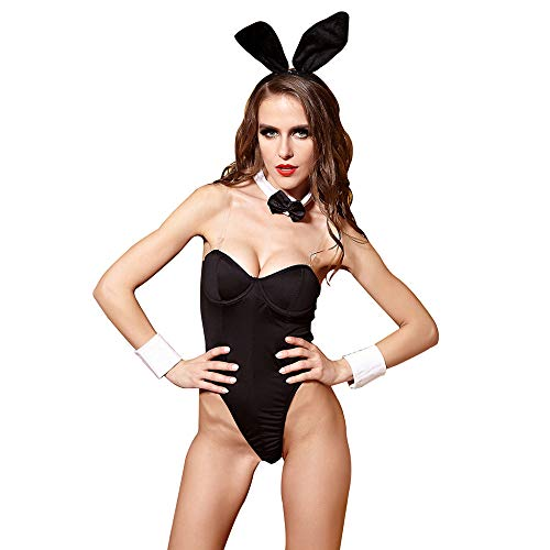 KAIDILA Sexy Dessous Sexy Bunny Girl Fun Anzug Spiel Uniform Versuchung Halloween Kostüm