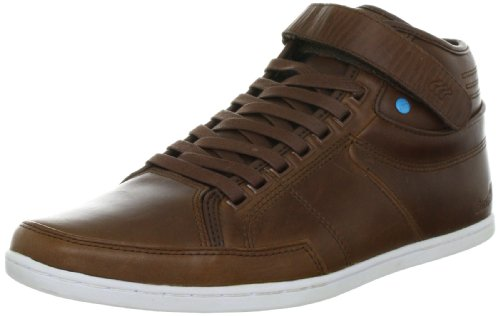 Boxfresh Switch Leather, Chaussures à lacets hommes Marron (Bitter Choc)