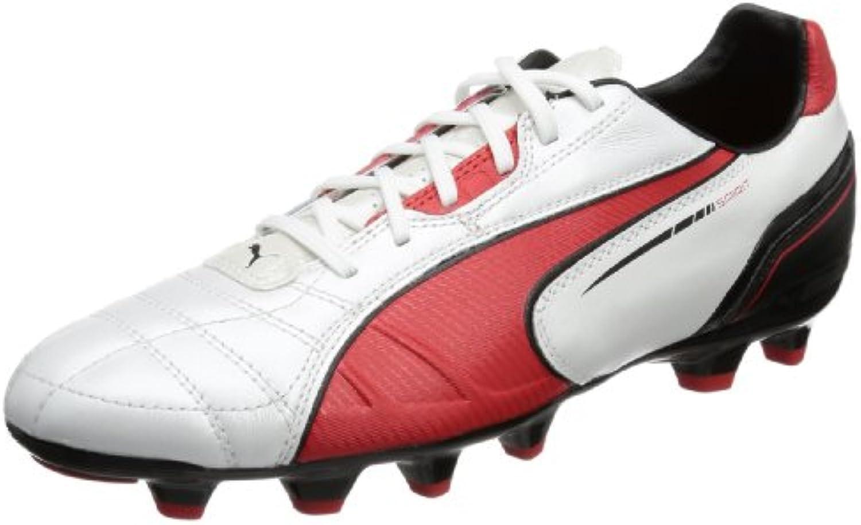 Puma Spirit MG 102672 - Zapatillas de fútbol de cuero para hombre