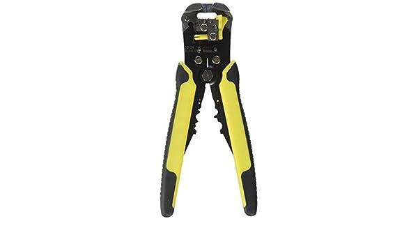 Wire Stripper /& Crimping Tool Heavy duty self-adjusting stripper