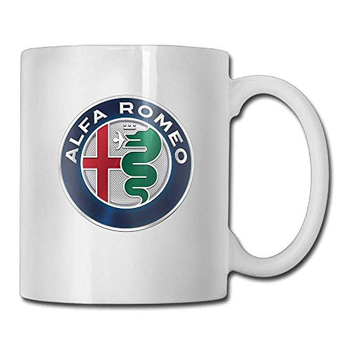 Alfa Romeo Coffee Cups and Gift Tea Mugs Water Cup Ceramic Cup Travel Cups 11 Ounces
