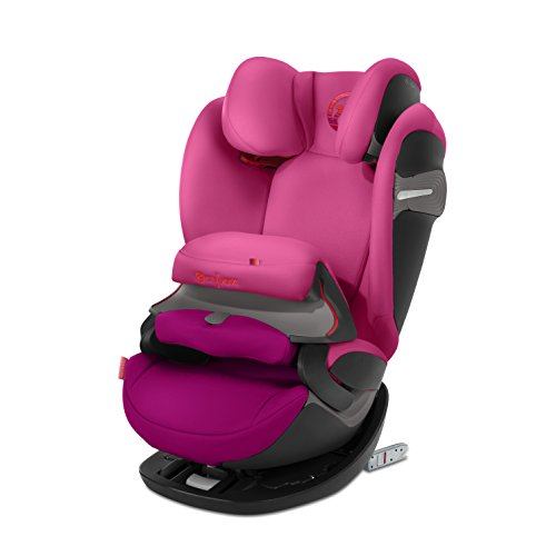 Cybex Gold Pallas S-Fix, Autositz Gruppe 1/2/3 (9-36 kg), Kollektion 2018, Passion Pink, mit Isofix (ohne Isofix verwendbar)