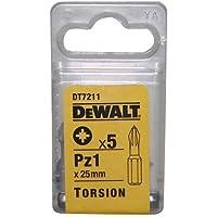 DeWalt DT7211QZ PZ1 25mm Torsion Bits (5 Pieces)