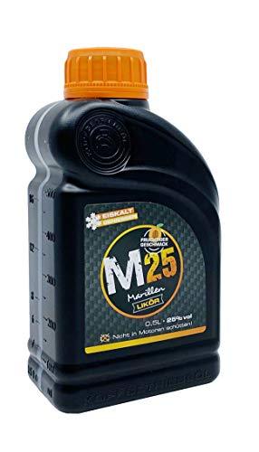 M25 Marillenlikör in Öldose von Kopfgetriebeöl 0,5l 25% vol.