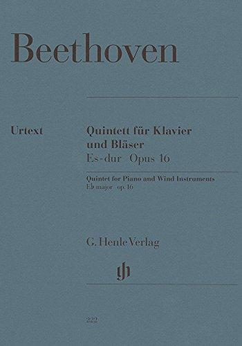 Quintett Es-Dur Op 16. Oboe, Klarinette, Horn, Fagott, Klavier