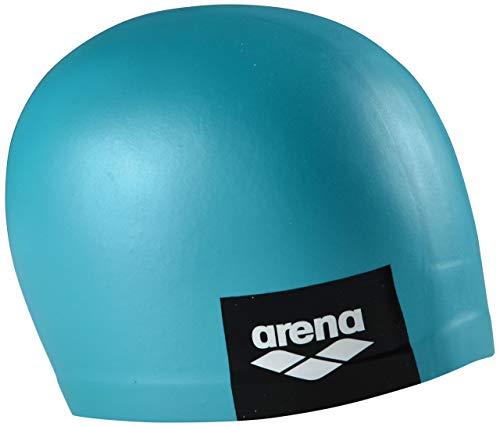 arena Badekappe Logo geformt, Unisex-Erwachsene, Logo Moulded Swim Cap, Mint, Mint (Speedo Silikon Swim Cap Frauen)