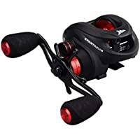KastKing Spartacus Plus Baitcasting Reel -Ultra Smooth Carbon Fiber Drag 17.5LBs Fishing Reel - 11 + 7 Shielded Ball Bearings - The Perfect Warrior for Bass Pike Carp Coarse Sea Predator Fishing-New Release for saltwater available