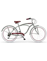 Mbm - Honolulu Homme Custom Cruiser 26'' Bicyclette Vélo Man 6S