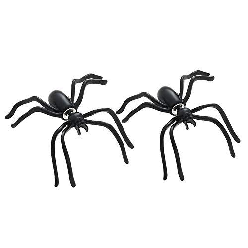 tecker Für Damen Mit Spinne Punk Gothic Ideal Für Halloween ()
