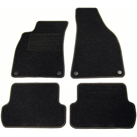 Velours piso alfombras coche alfombrillas Audi A4 (8E B6 B7) SALÓN AVANT + 4-pieza