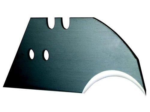 Stanley Konkavklingen 5192 (spezielle Form, für Lederarbeiten, 0,65 mm Stärke) 100 Stück, 0-11-952 (Bessey-box Cutter)