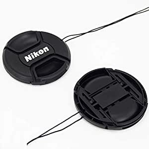 OMAX 55mm Replacement Front Lens Cap for Nikon AF-P (Black)