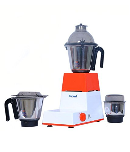 Sumeet Domestic-XL-III 550 W 3 Jar Mixer Grinder  available at amazon for Rs.3319