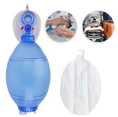 Huakii Adult Pocket, Sauerstoffmaskenbeutel für Beatmungsbeutel