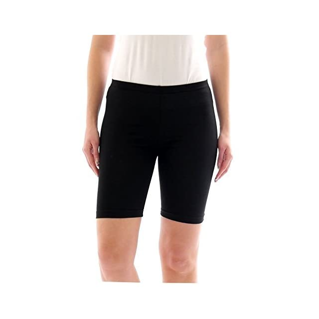 9f625f9483355 Description du produit. FEMMES SPORT SHORTS PANTALON CHAUD SHORTS SPORT  RADLER court legging coton