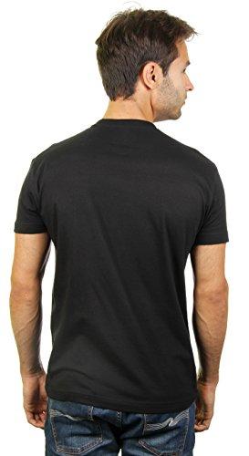 Haus-Party - Herren T-Shirt von Kater Likoli Deep Black