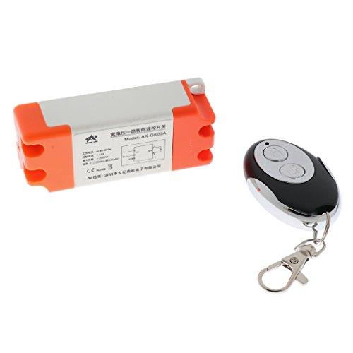 Auto-alarmanlagen-fernbedienung (Homyl 1 Stück Universal Fernbedienung 433Mhz 2-tasten Handfernschalter Funkfernsteuerung Einkreisschalter für Autos, Motorräder Alarmanlage)