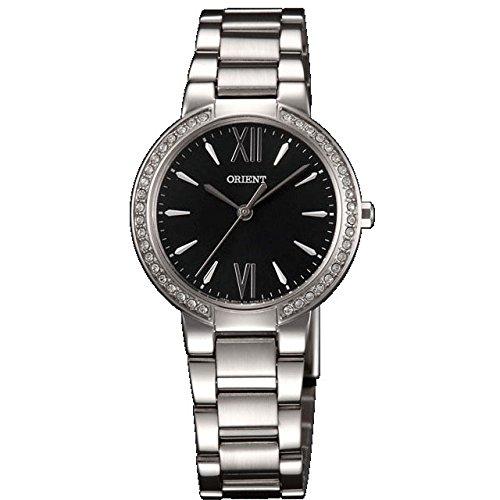 Orient FQC0M004B0 30mm Silver Steel Bracelet & Case Mineral Women's Watch