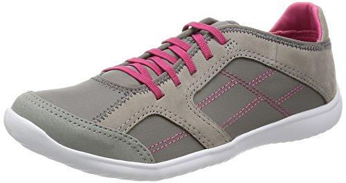 Clarks pour femme Casual Tonnelle Jade Chaussures en cuir en gris Gris