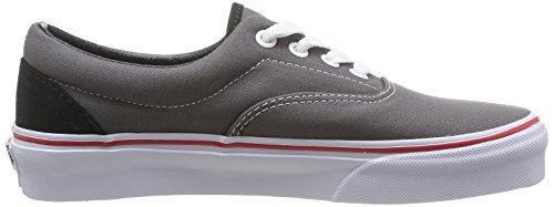Vans U Era , Baskets mode mixte adulte Gris (Gargoyle/Mars Red)